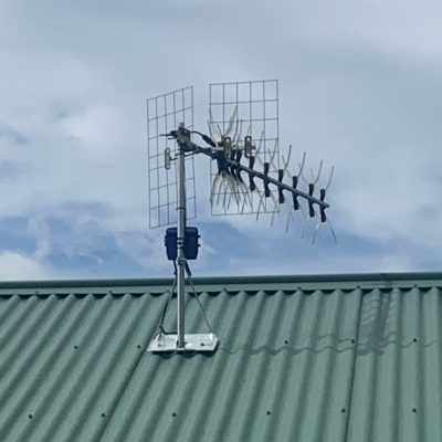 antenna green roof